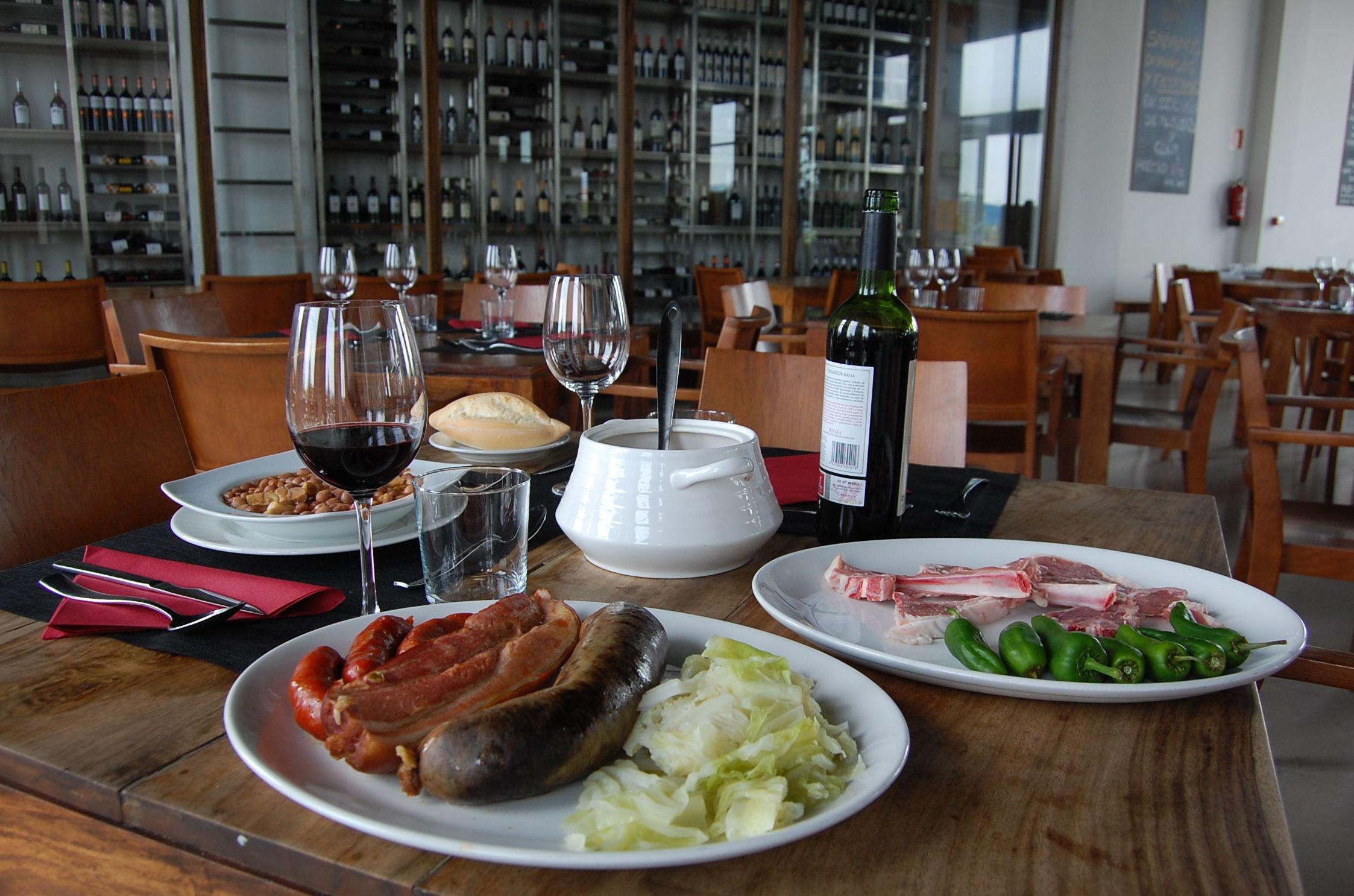 Cocina de mercado con productos tradicionales de La Rioja