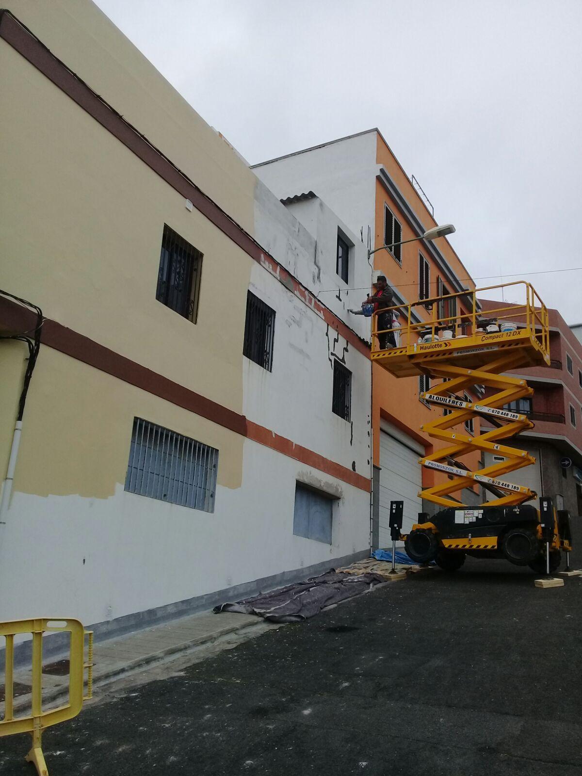 Rehabilitación de fachadas: Servicios de Pinturas y Revestimientos González