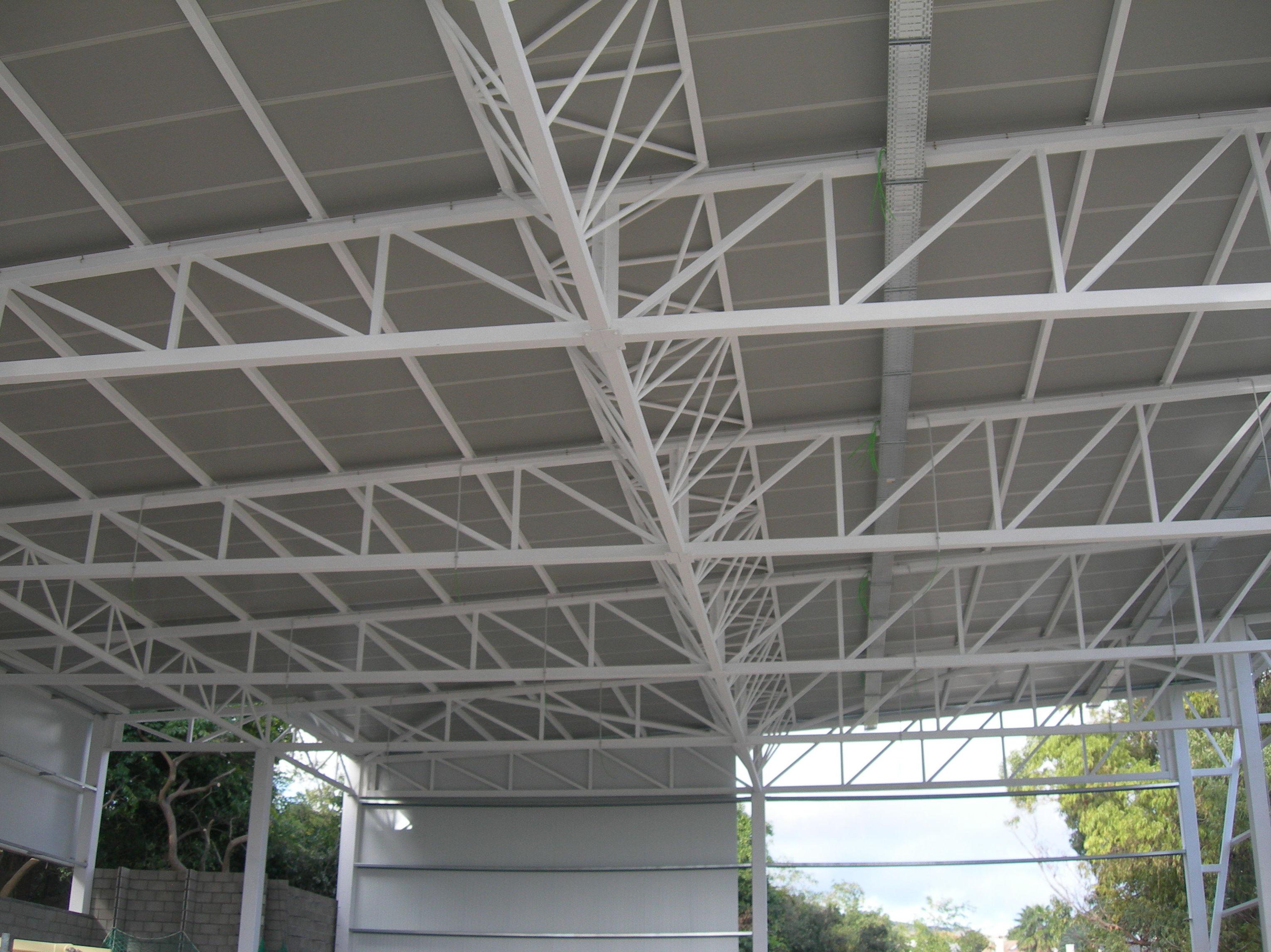 Construcci n de estructuras met licas - Estructuras metalicas tipos ...