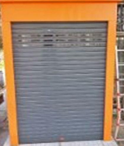 Diseño, fabricación y montaje de caseta para guardar máquinas expendedoras de tickets