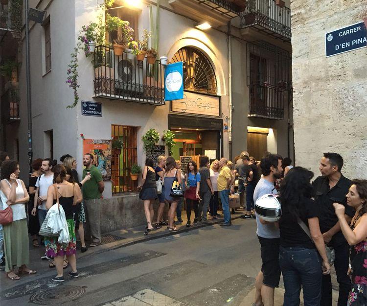 Nuestro restaurante en el centro de Valencia