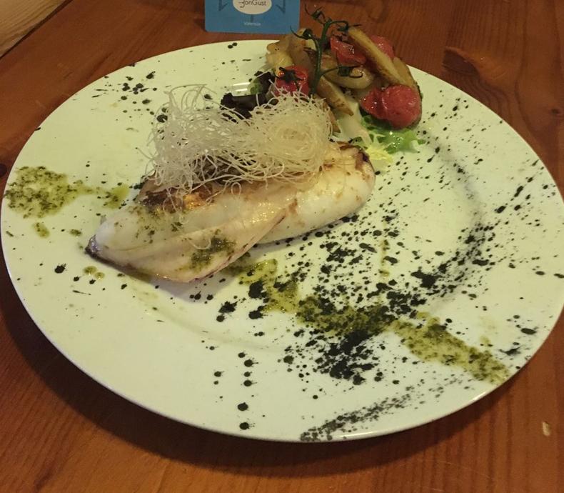 Restaurante cocina vegetariana en el carmen Valencia