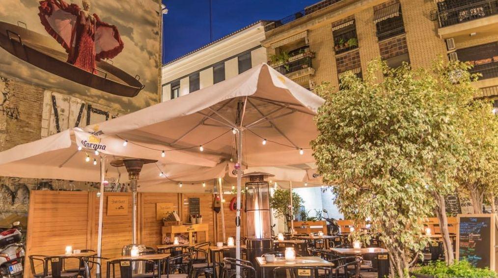 Restaurantes con terraza en El Carmen Valencia