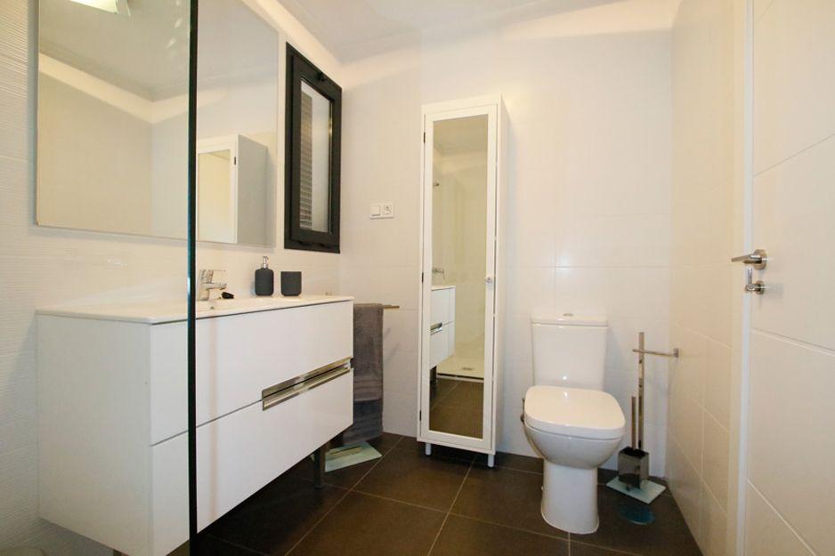 Baño en apartamentos Costa Ancor