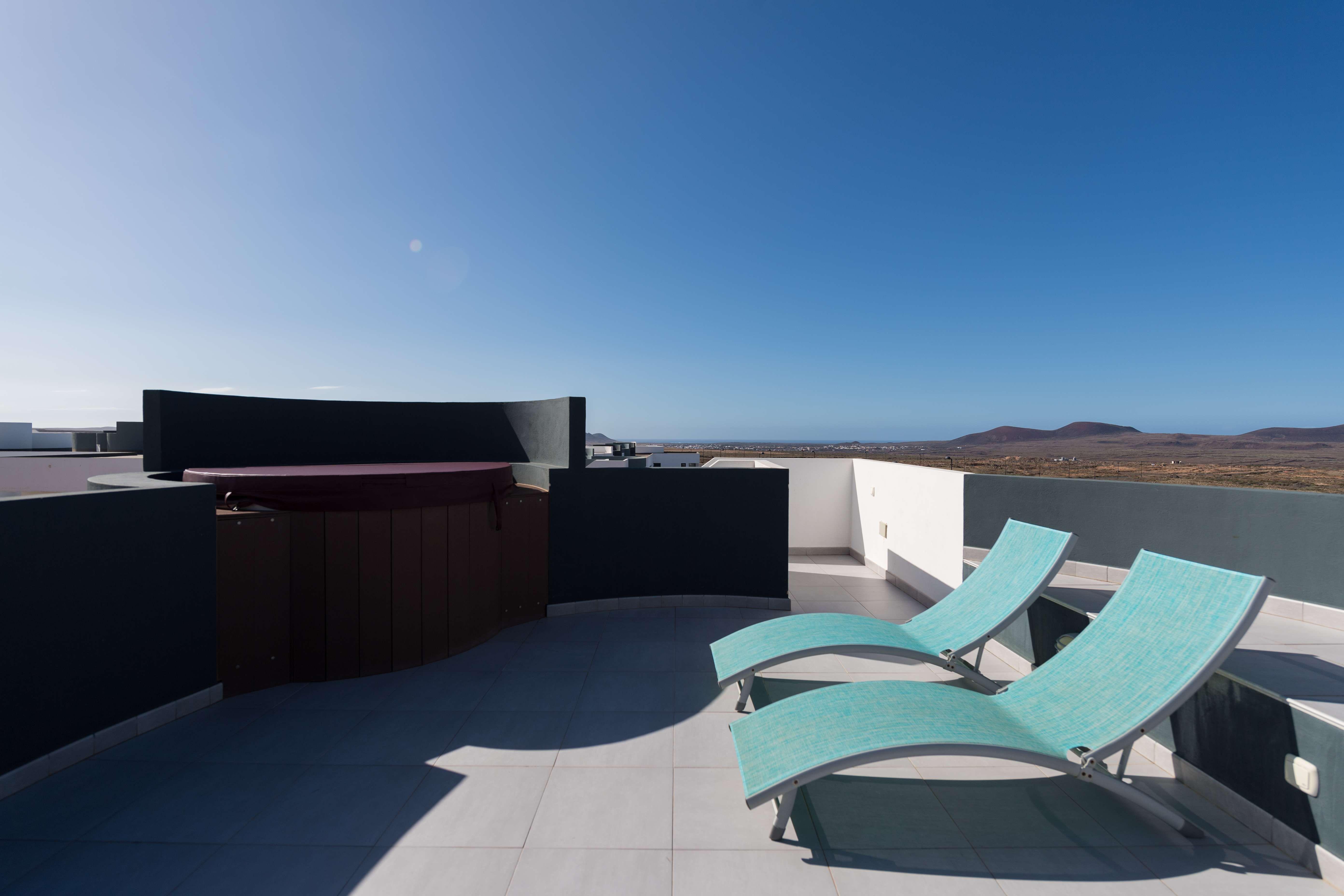 Terraza con vistas