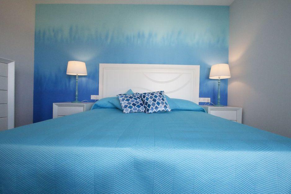 Dormitorio de apartamento en Costa Ancor