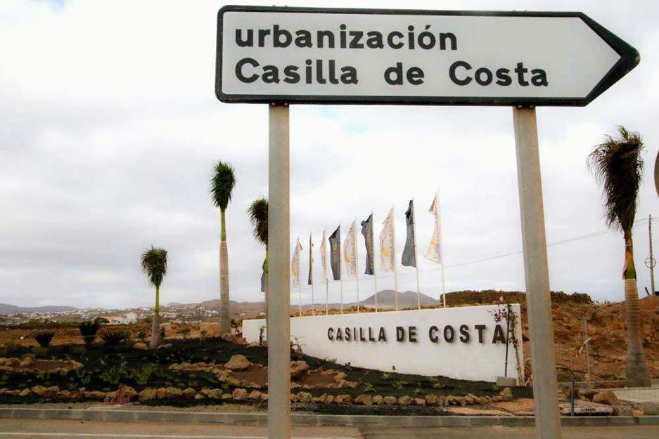 Urbanización Casilla de Costa en Fuerteventura