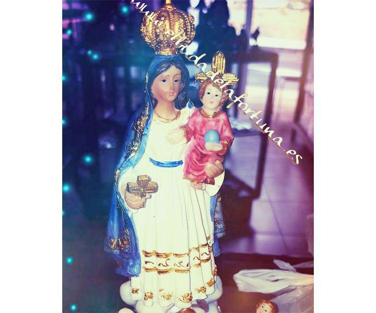 Imagen de la Virgen de la Caridad del Cobre en Las Palmas
