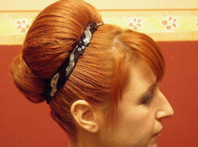 Muestra de peinado