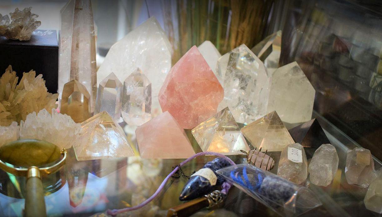 Minerales, velas e inciensos en Sant Boi de Llobregat