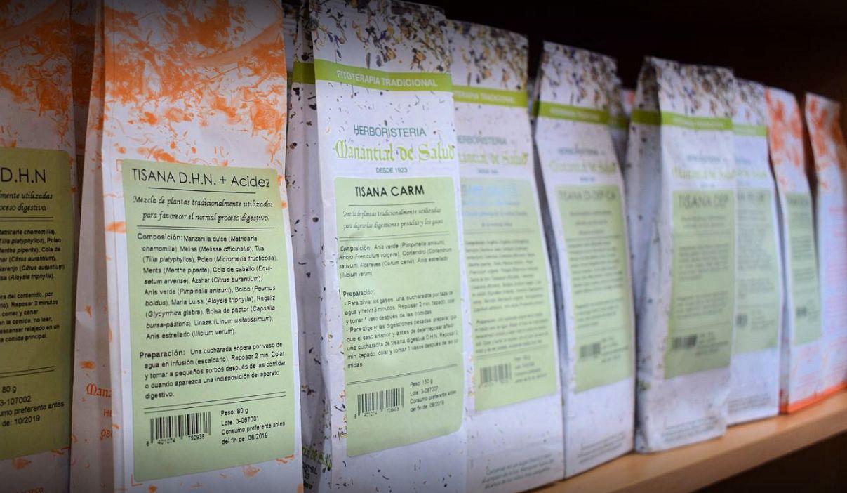 Plantas medicinales y aromáticas en Sant Boi de Llobregat