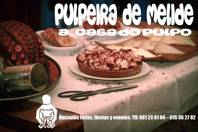 Foto 1 de Restaurante  en A Coruña | A Pulpeira de Melide de Lola