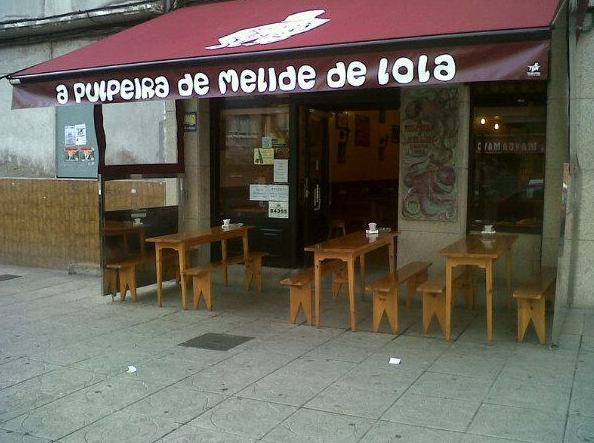 A Pulpeira de Melide de Lola en A Coruña