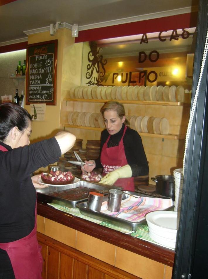 Pulpería en A Coruña