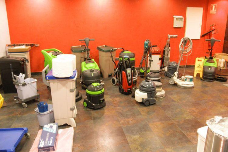 Maquinas de limpieza industrial