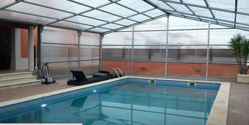 Venta de estructuras de policarbonato cubre piscinas - Cubre piscinas precios ...