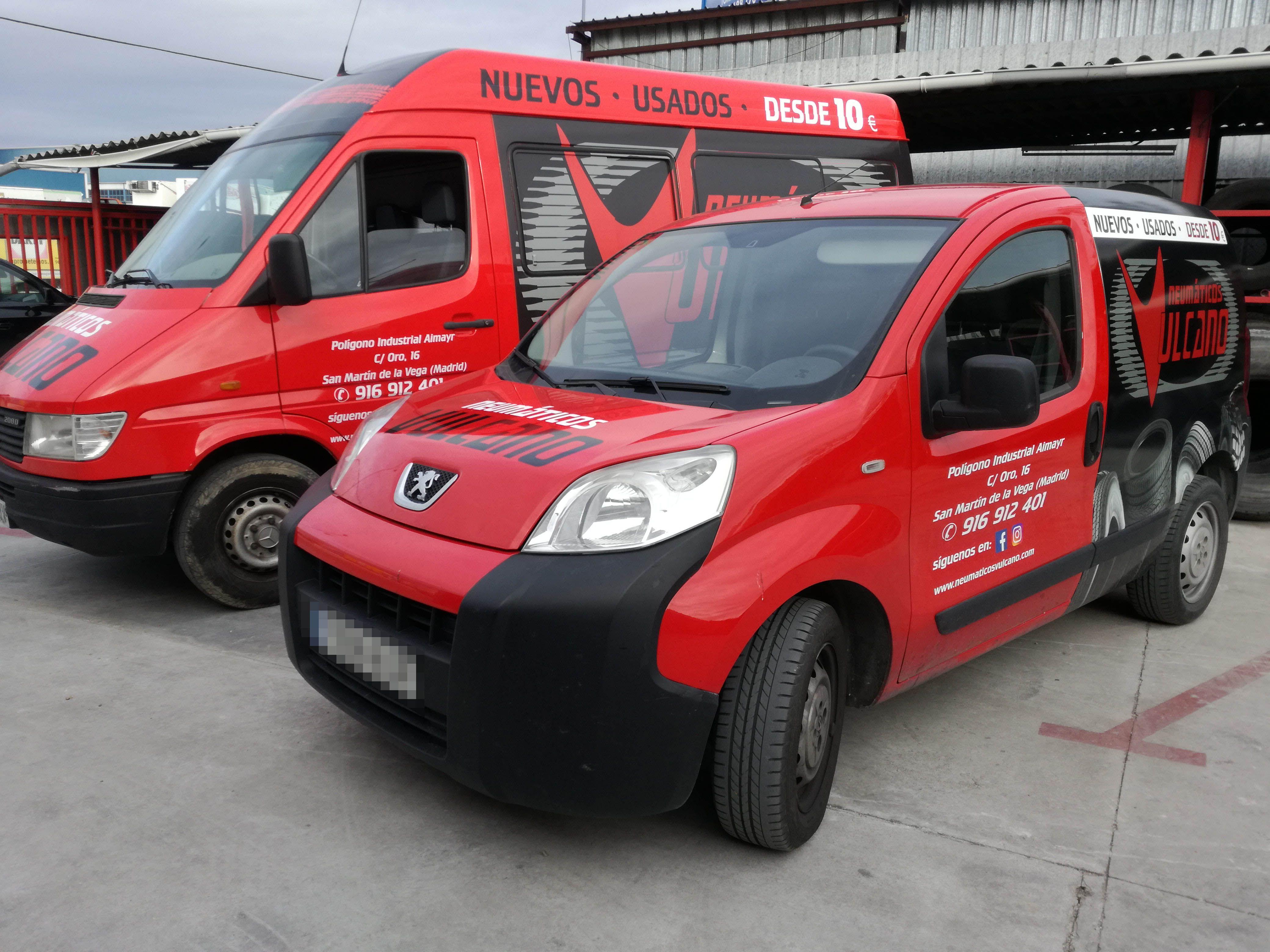 Mecanica Rapida: Servicios de Neumáticos Vulcano