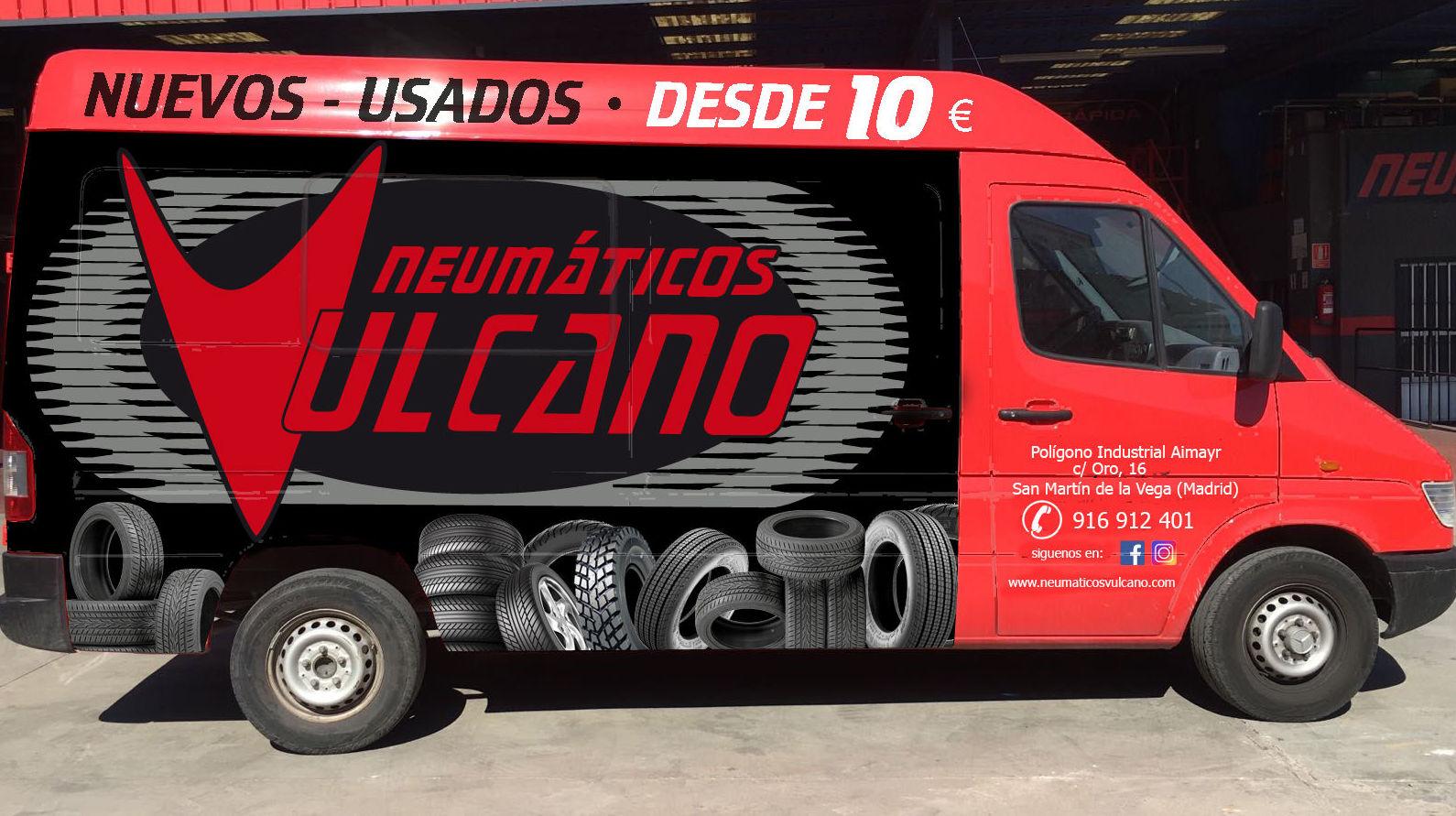 Foto 1 de Neumáticos en San Martín de la Vega | Neumáticos Vulcano