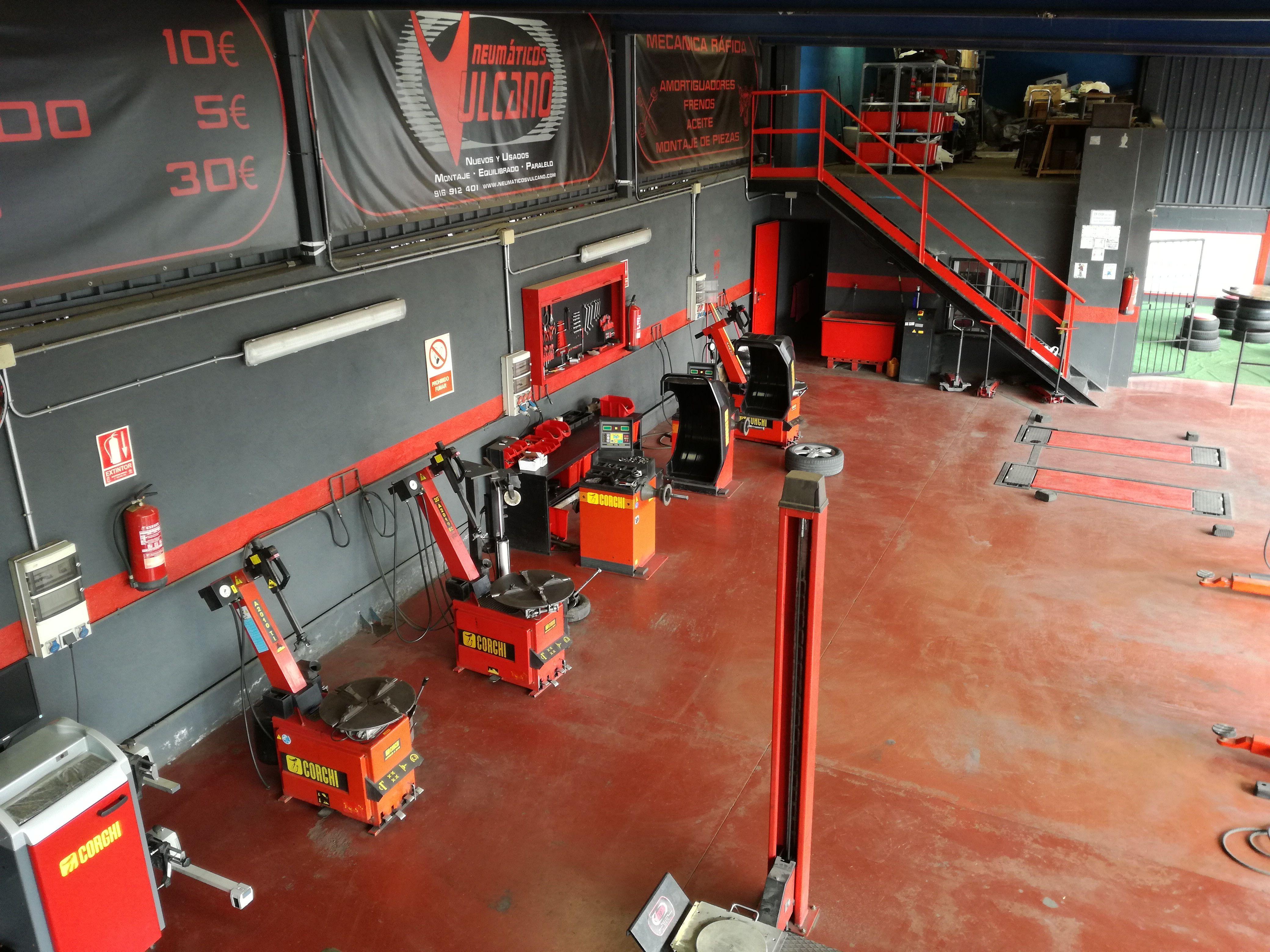 Venta de neumáticos: Servicios de Neumáticos Vulcano