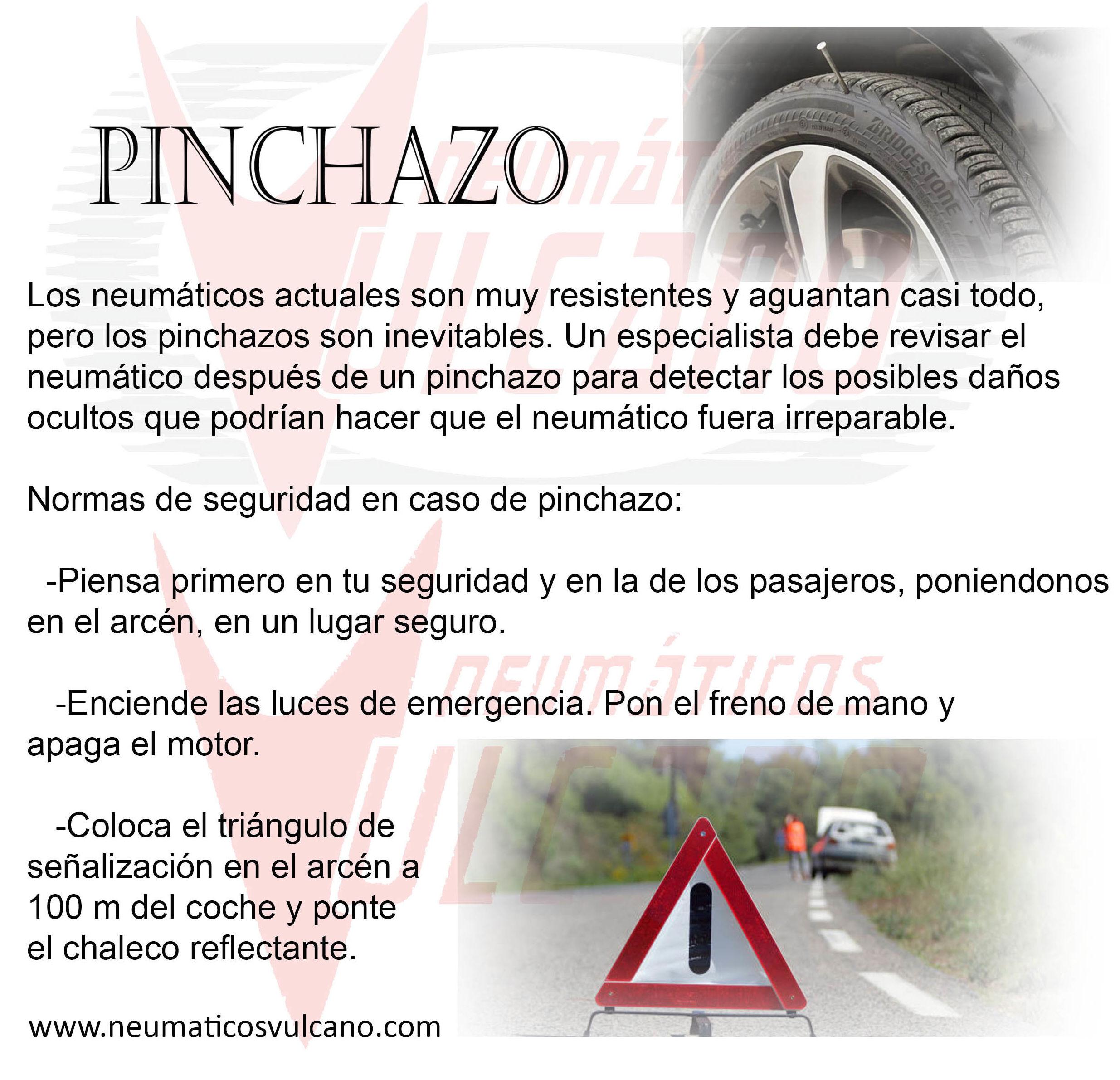 Arreglo de Pinchazos por tan solo 5 €