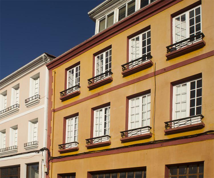 Restauración de fachadas en Tenerife