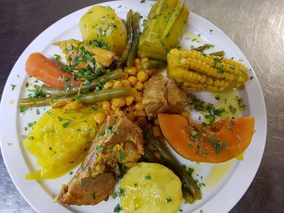 Platos tradicionales canarios en Lanzarote