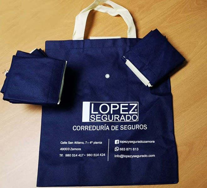 Bolsa de regalo Lopez y Segurado