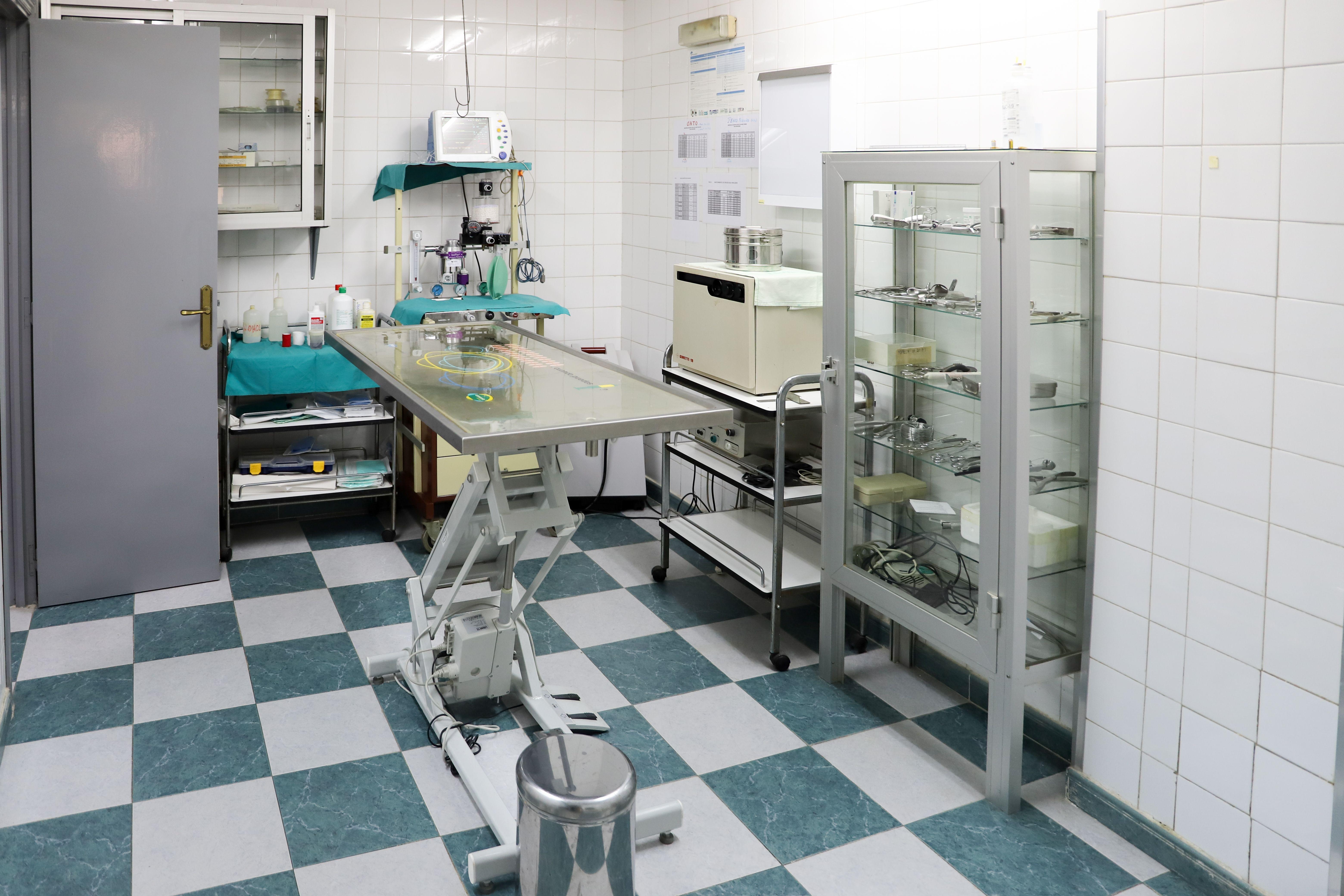 Sala de cirujía