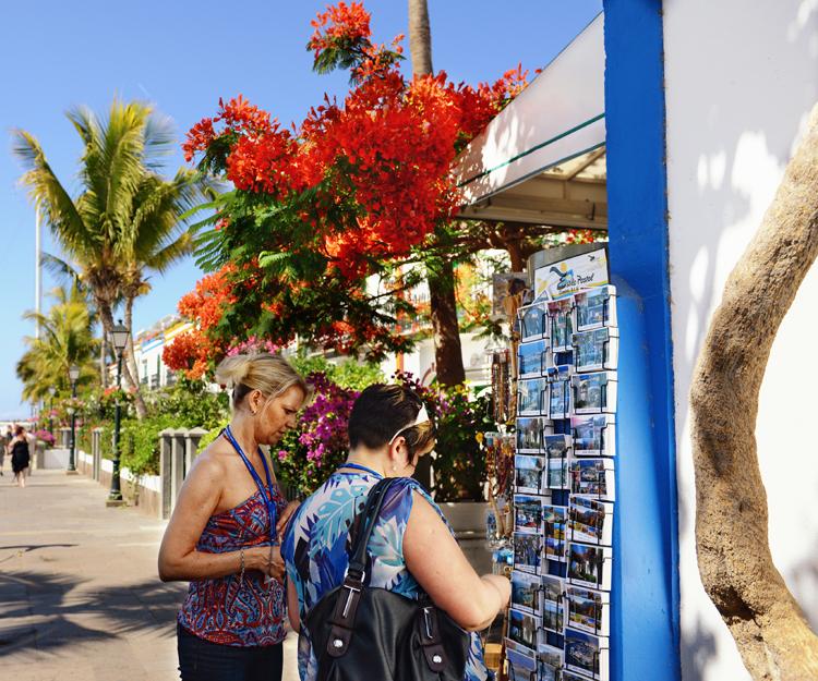 Venta de souvenirs en Mallorca