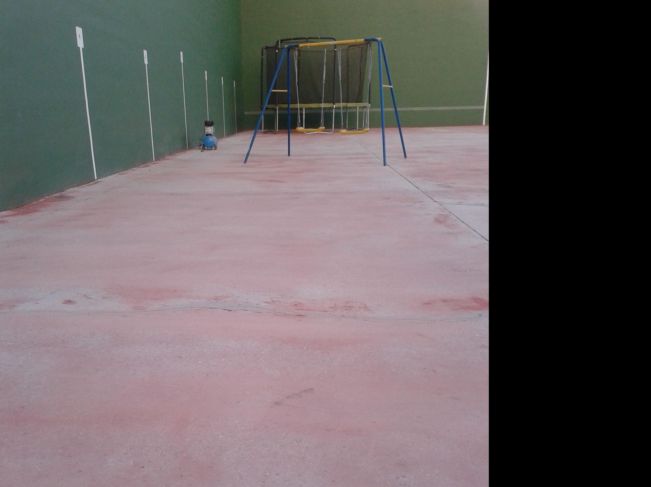 Reparación y preparación solera hormigón