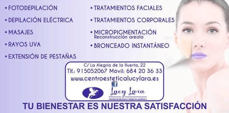 Foto 1 de Centros de estética en Madrid | Centro de belleza y medicina estética Lucy Lara
