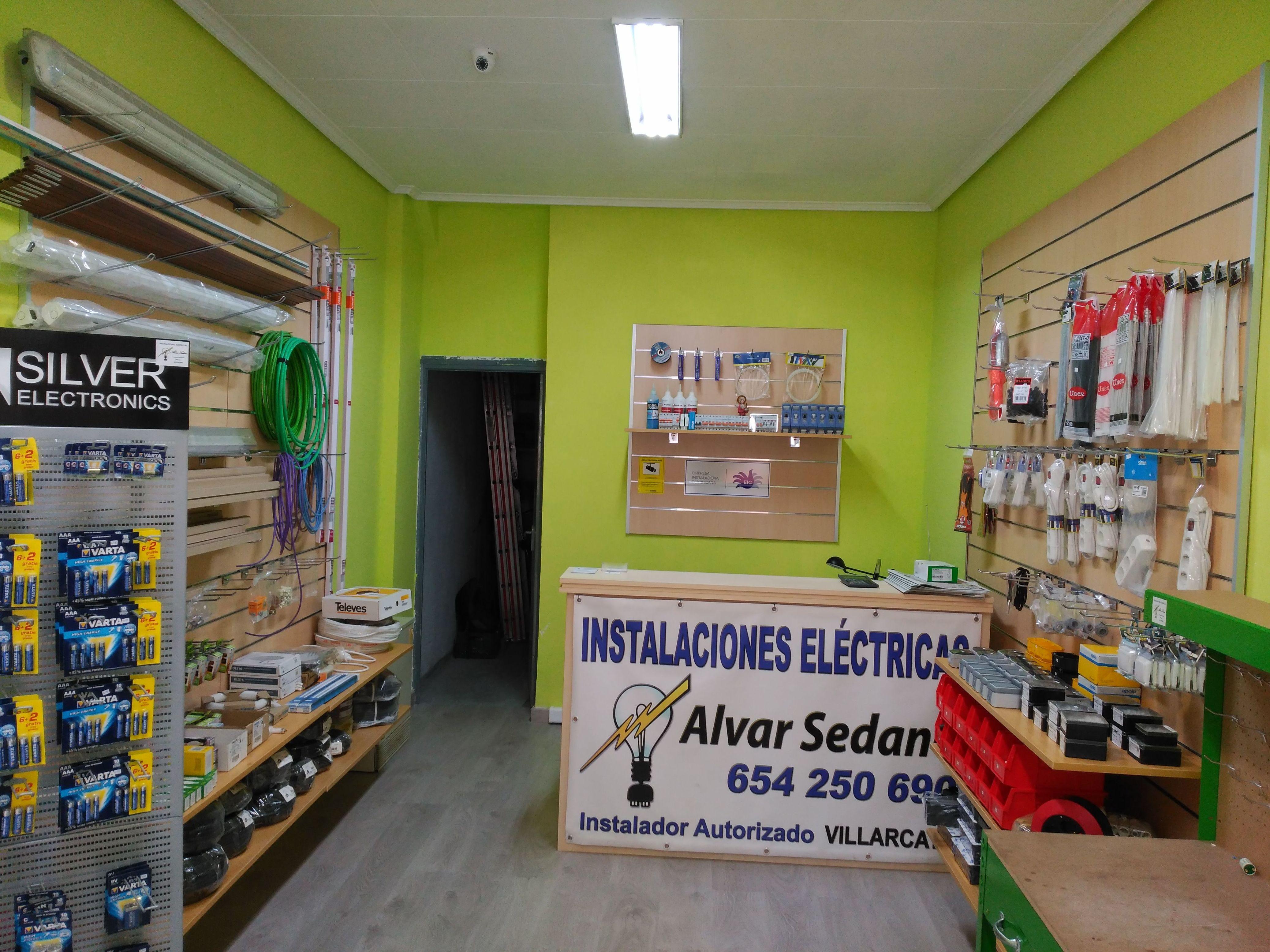 Proyecto de tienda de electricidad - Villarcayo (Burgos)