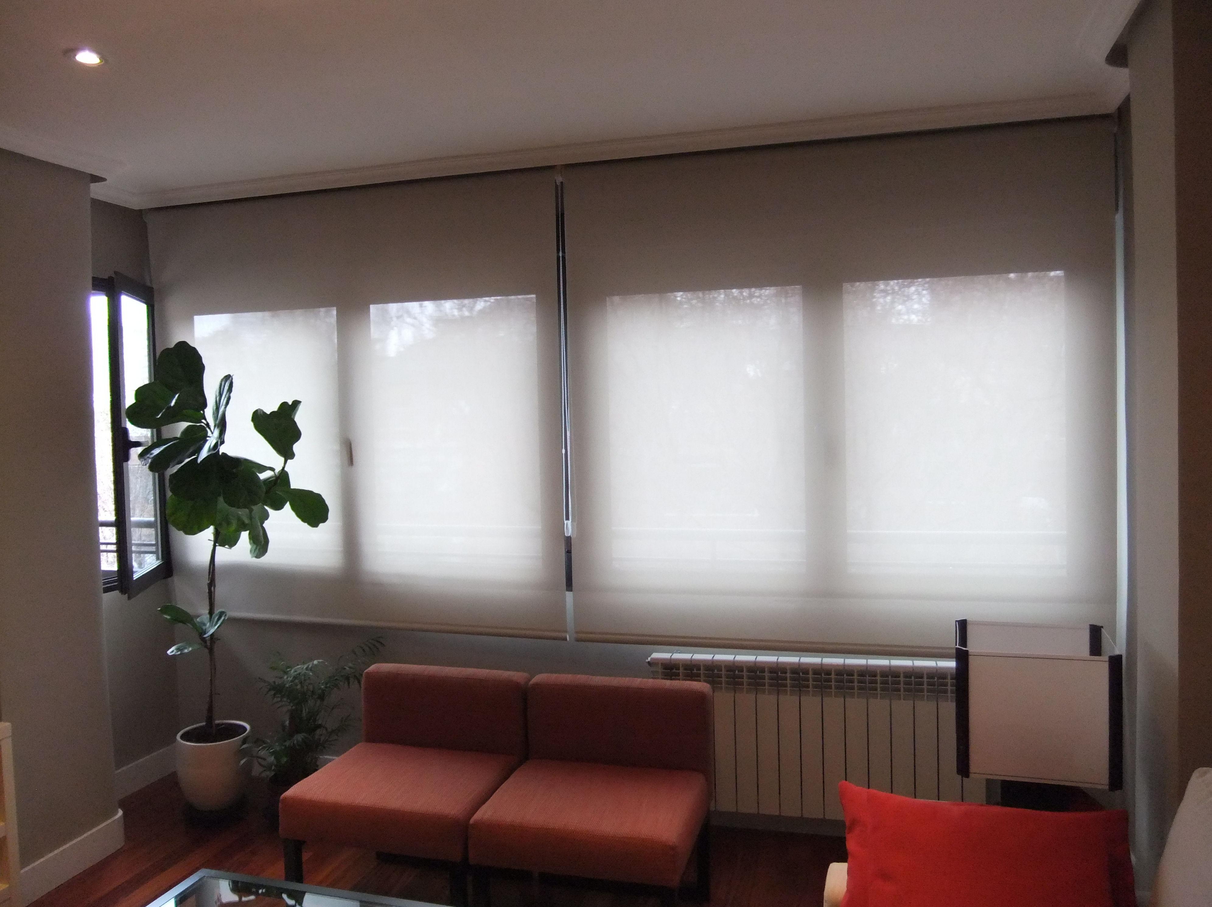 Estores persianas venecianas y cortina de lama vertical cat logo y servicios de jofr n tapicer a - Todo cortinas y estores ...