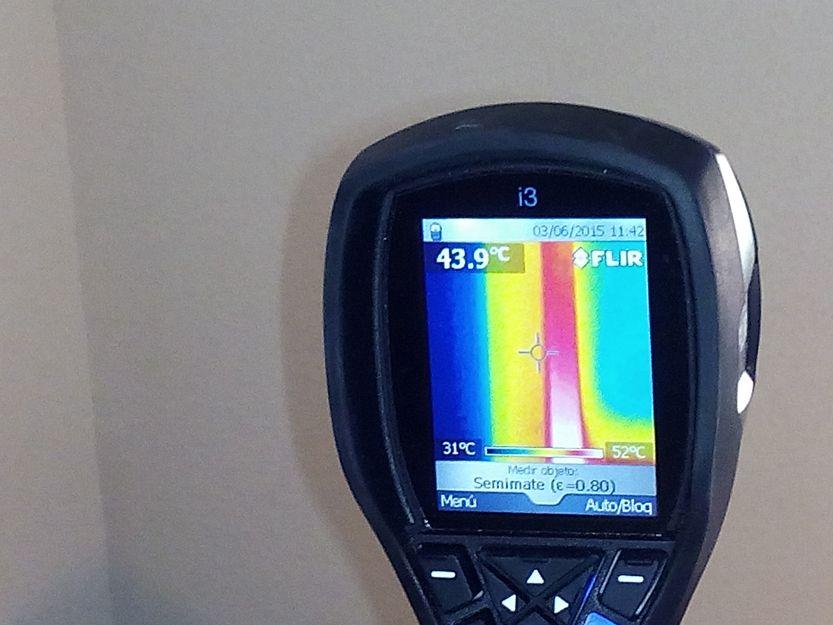 Estudios termográficos previos para determinar las características del edificio