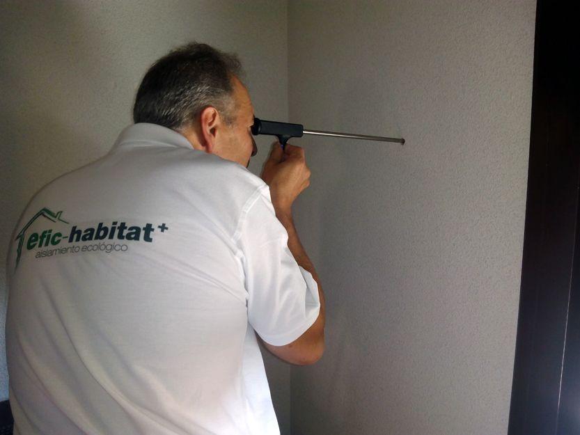 Inspección de los muros para la correcta elección del material