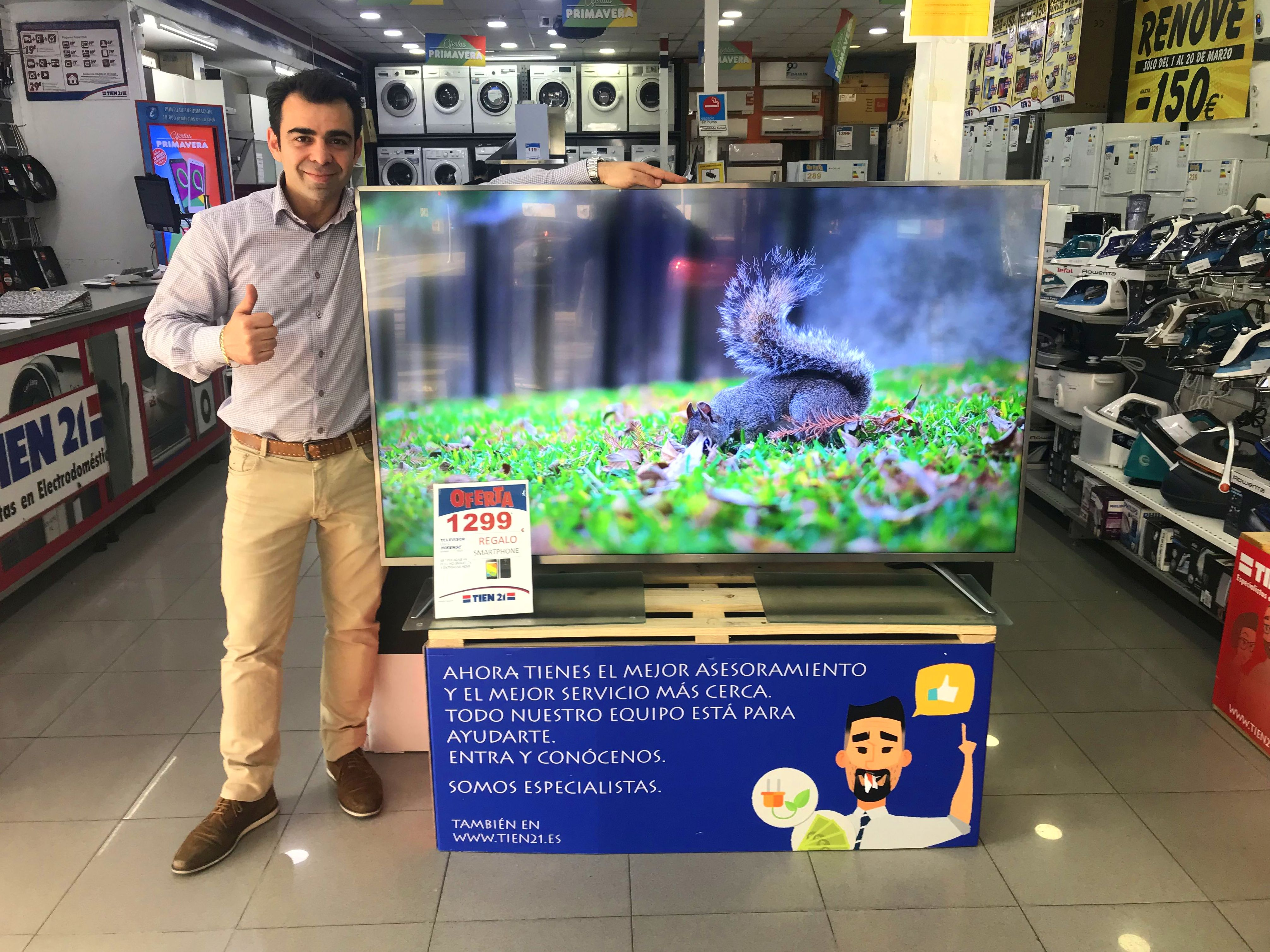 Televisor Led  Hisense 65