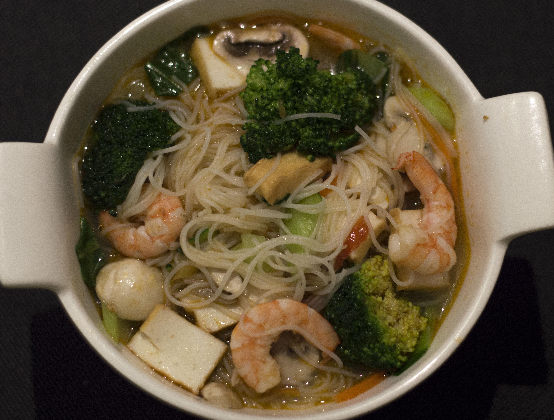 Comida saludable tailandesa
