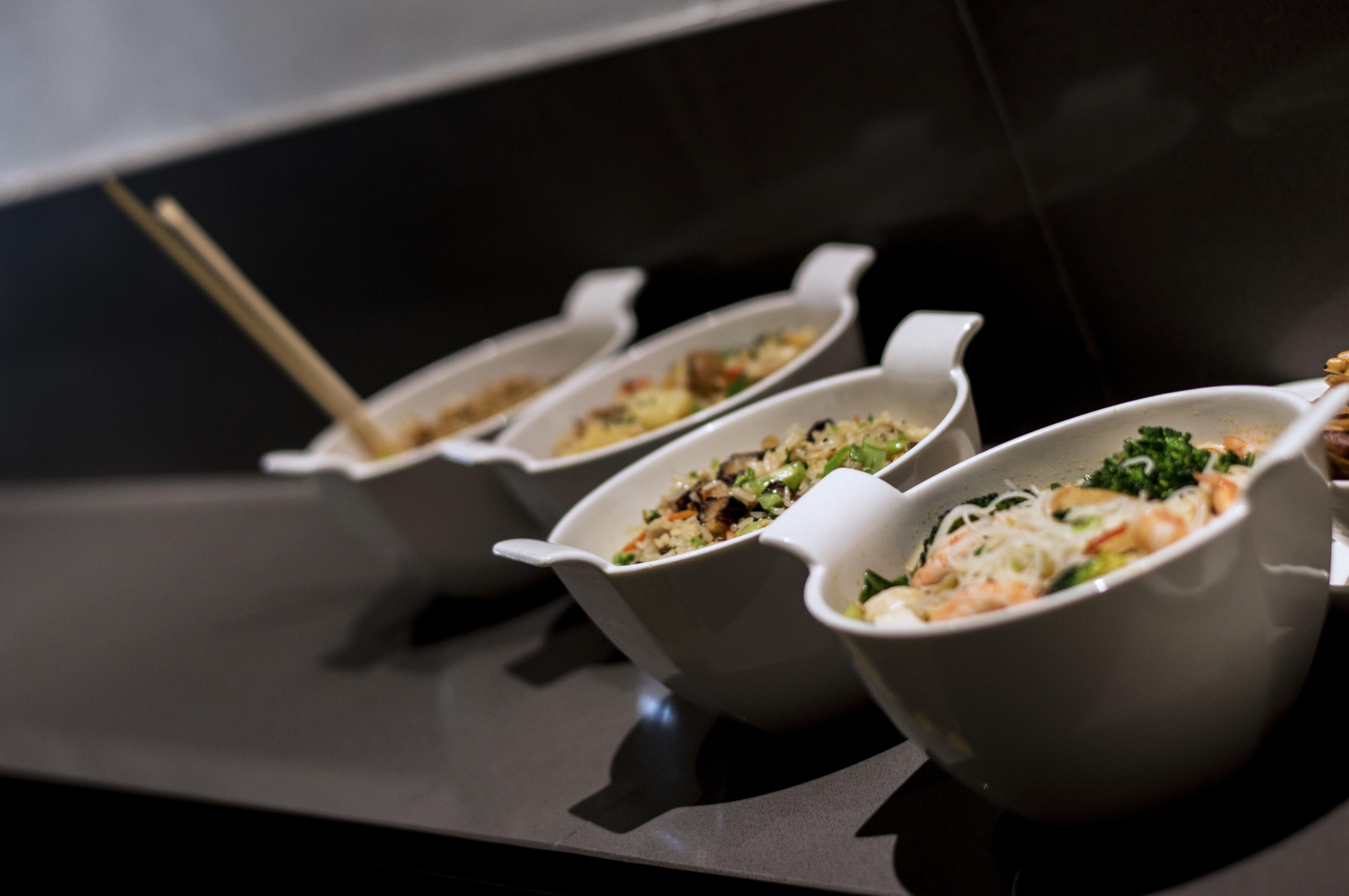 Platos variados de la cocina tailandesa