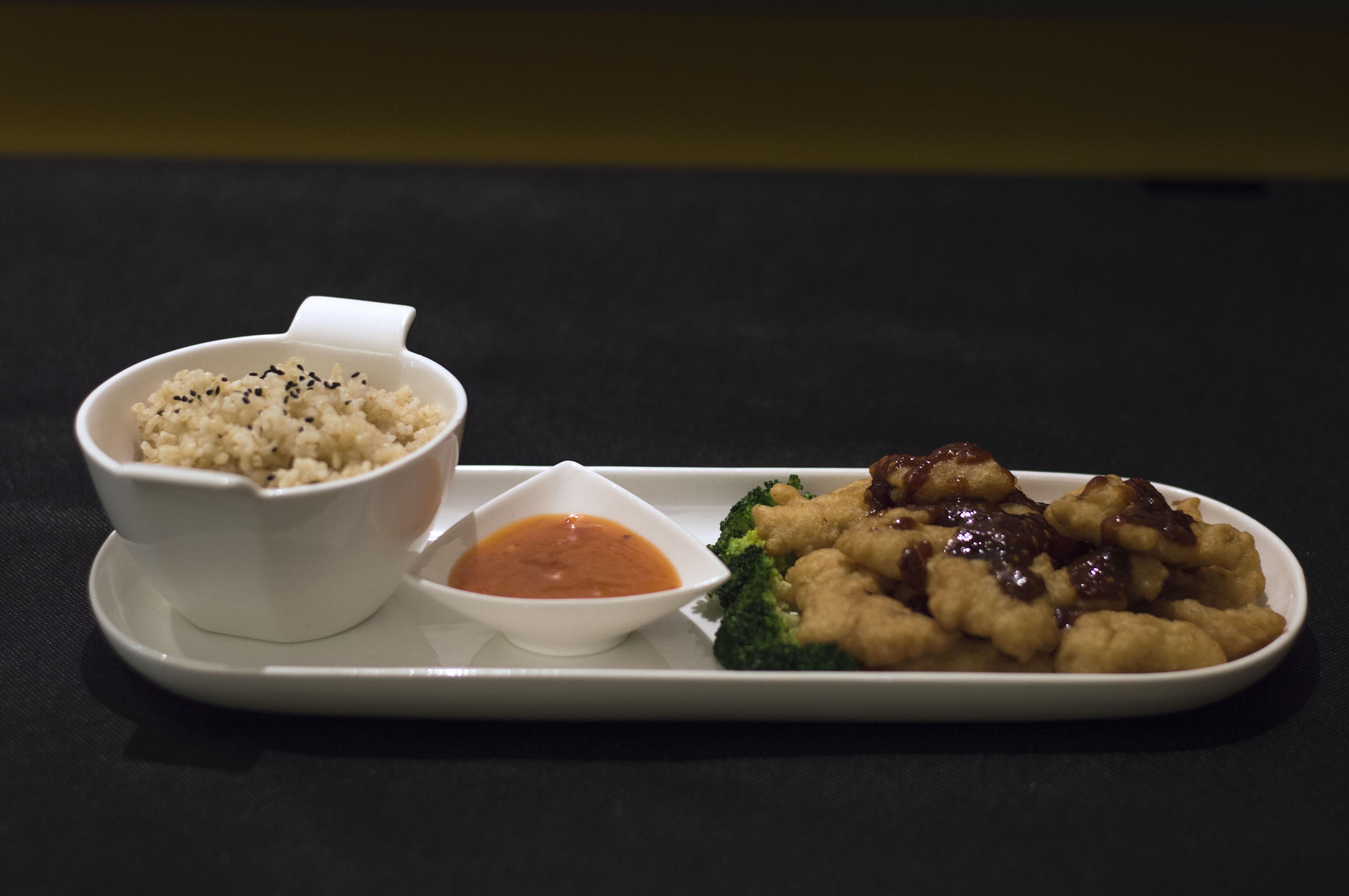 Comida asiática para llevar
