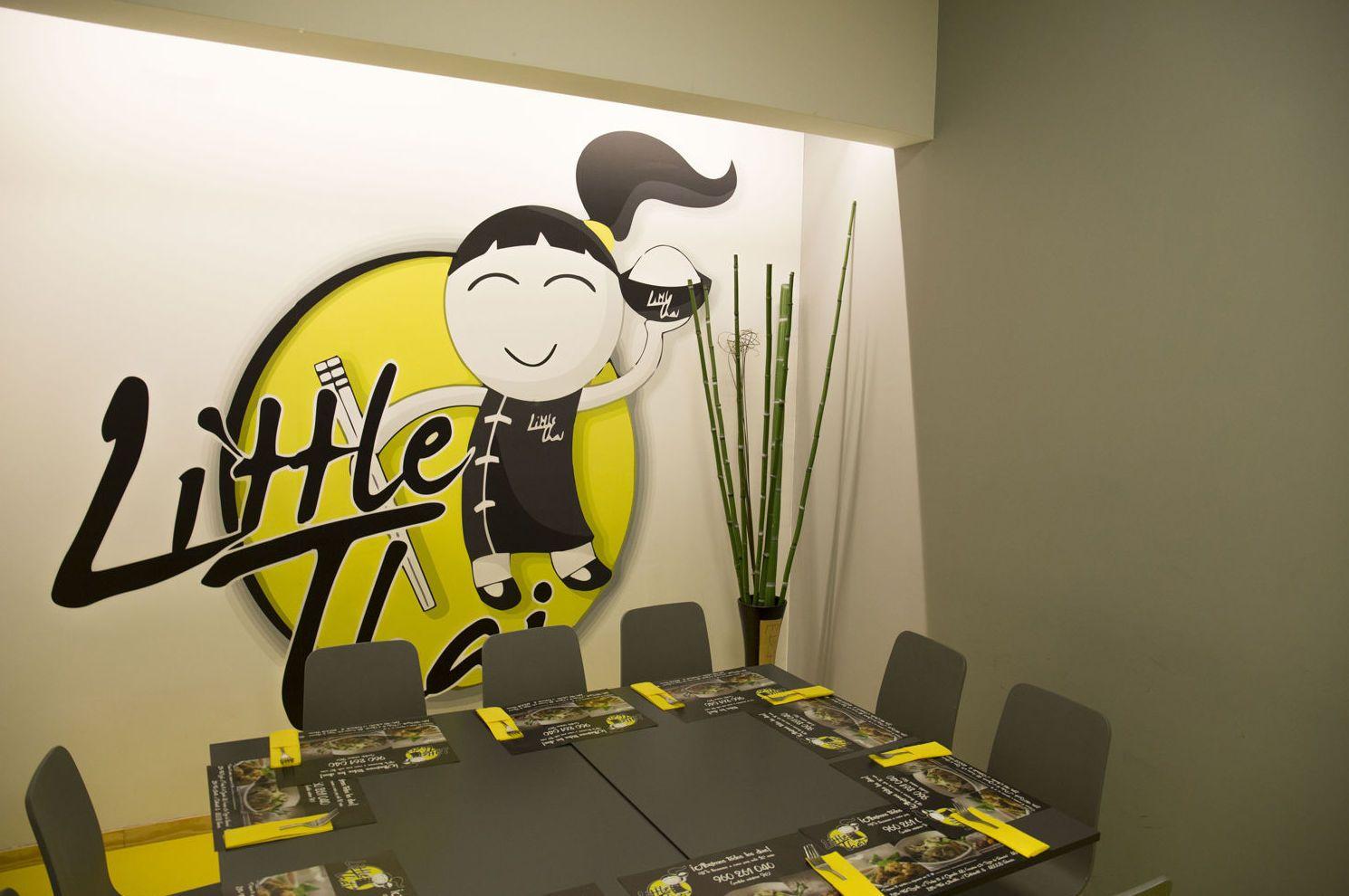 Comidas y cenas para grupos: Carta de Platos de Restaurante Little Thai