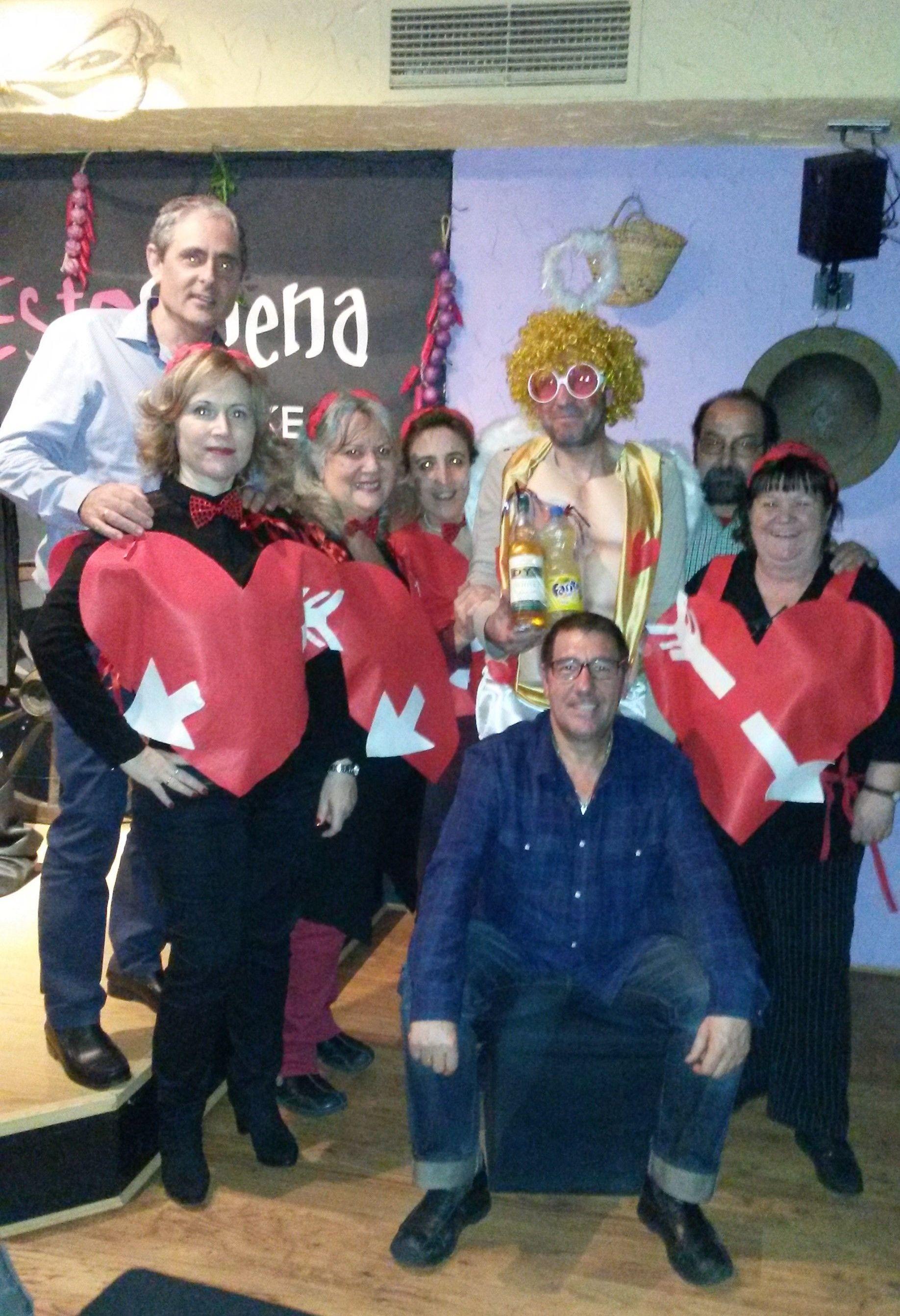 Carnaval 2015 Cupido 1º Premio. Enhorabuena