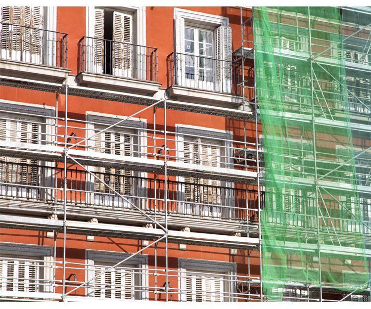 Rehabilitación de fachadas en Huesca