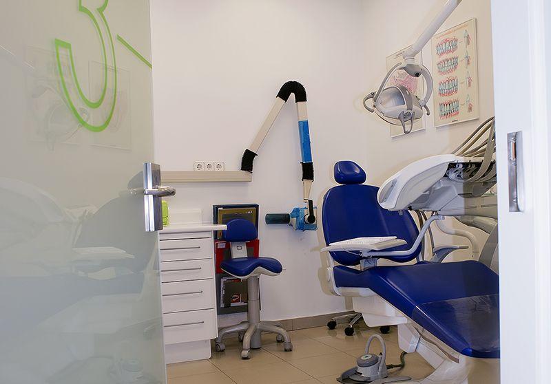 Odontología en general en Coslada