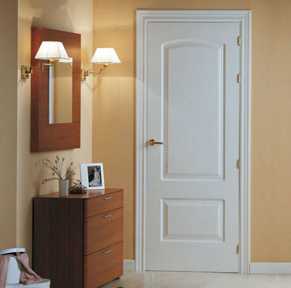 Puertas lacadas de madera pamplona