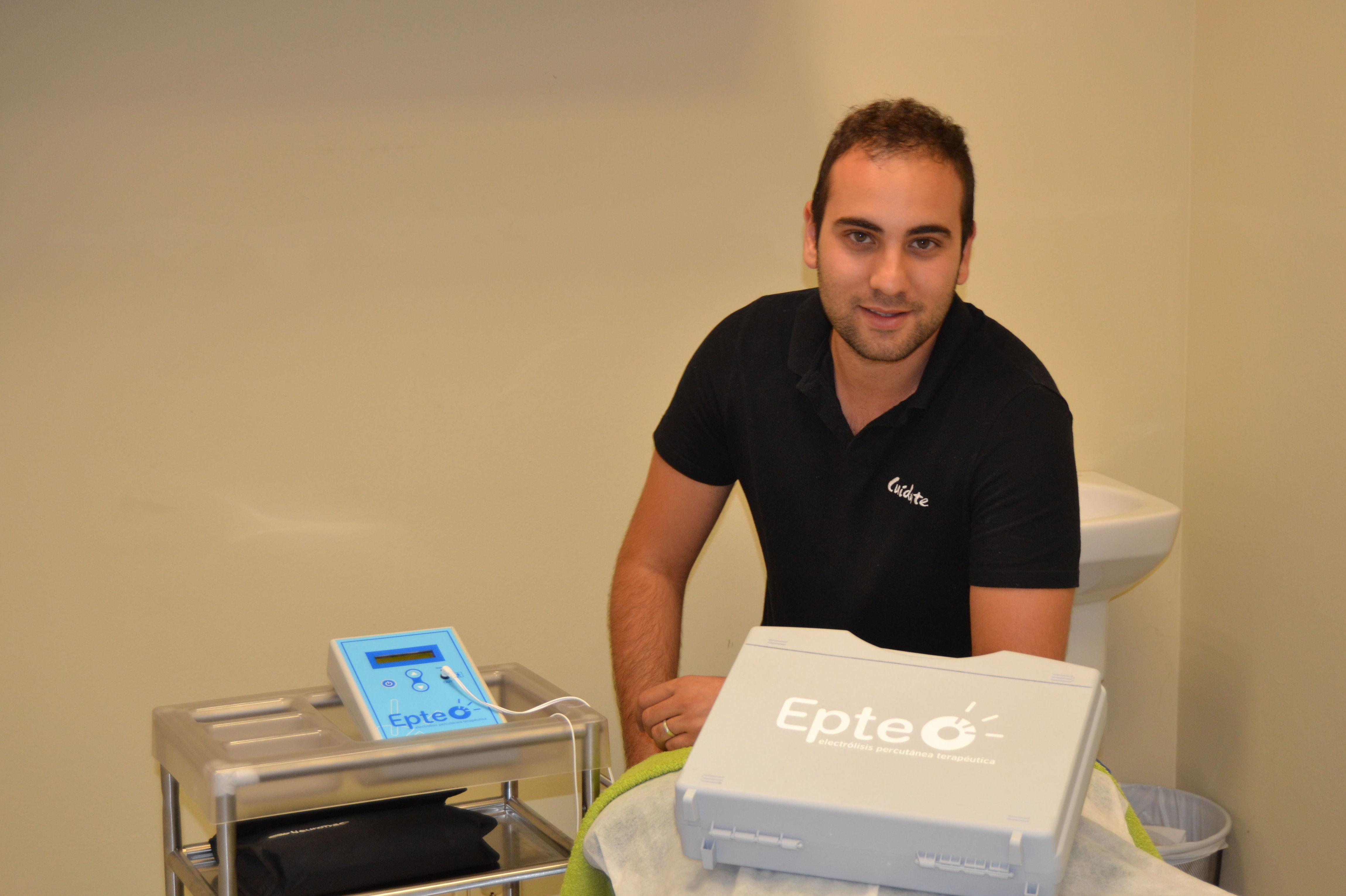 Nuestro experto en electrolisis percutánea terapéutica