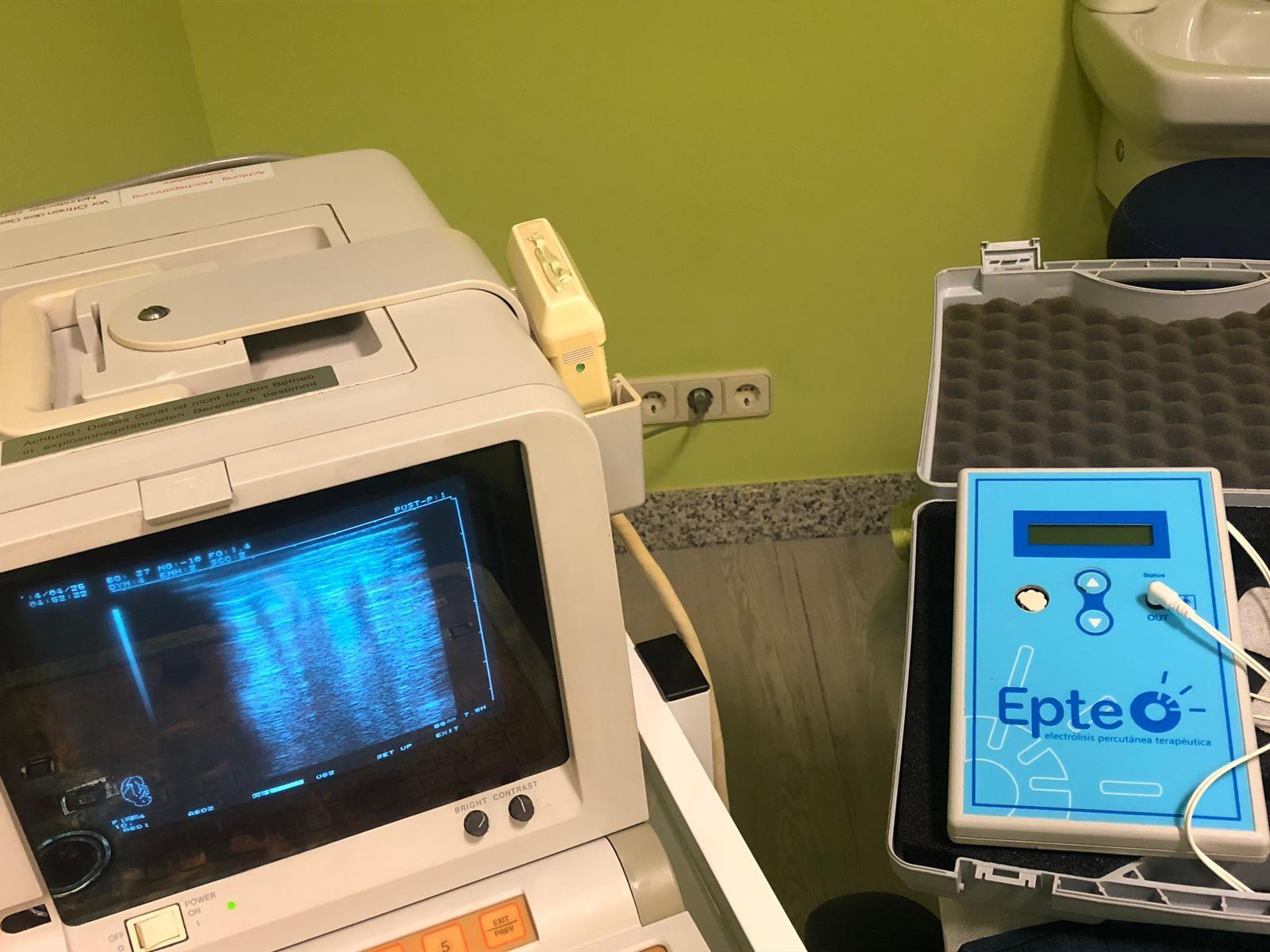 Ecografo y electrolisis
