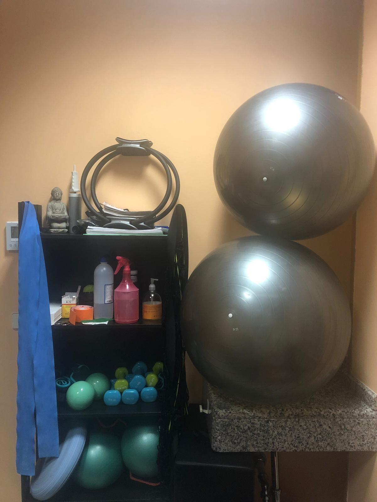 pequeño material de Pilates