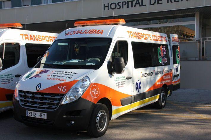 Nuestra flota: Servicios de Ambulancias Alhambra - Granada