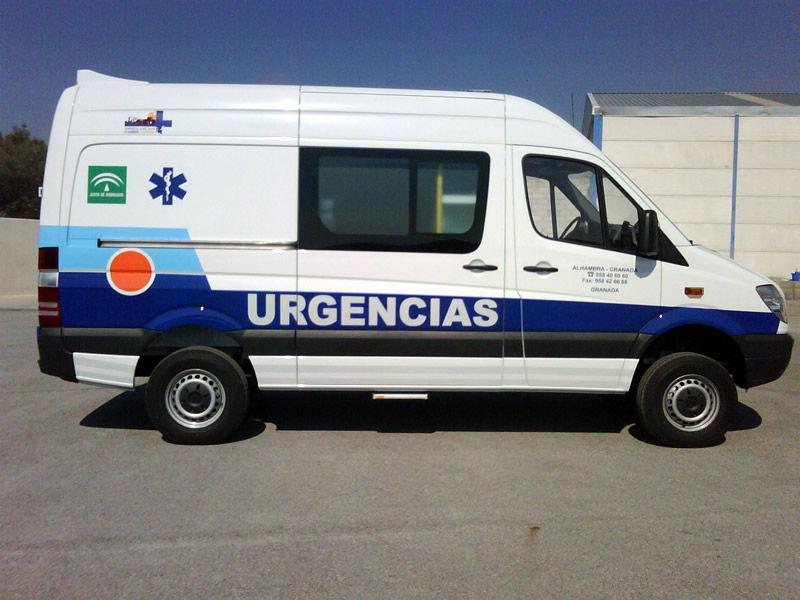 Servicio de ambulacias Granada