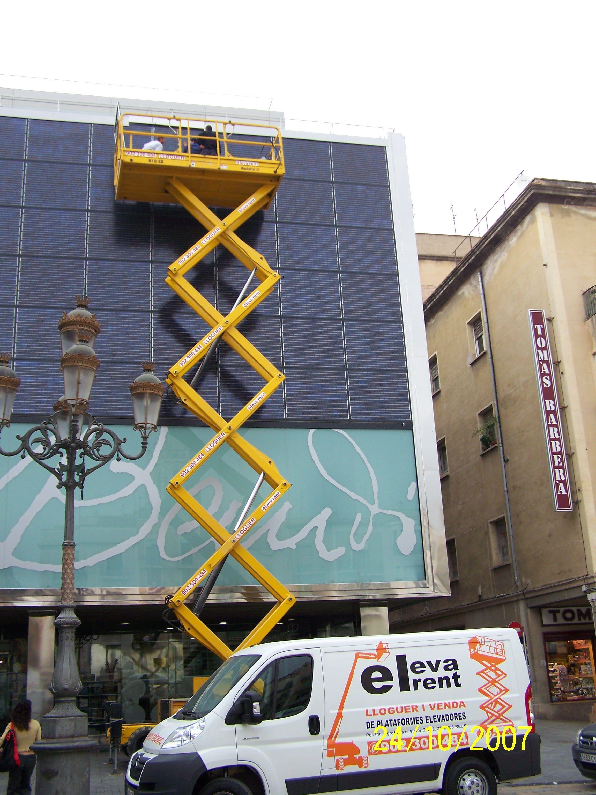 Foto 25 de Plataformas elevadoras en Reus | Eleva Rent